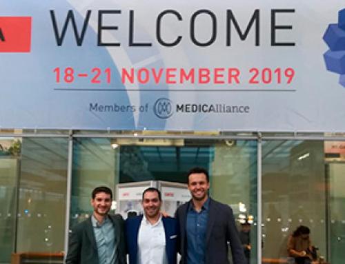 ABANZA at MEDICA Trade Fair 2019 (Düsseldorf, Germany)